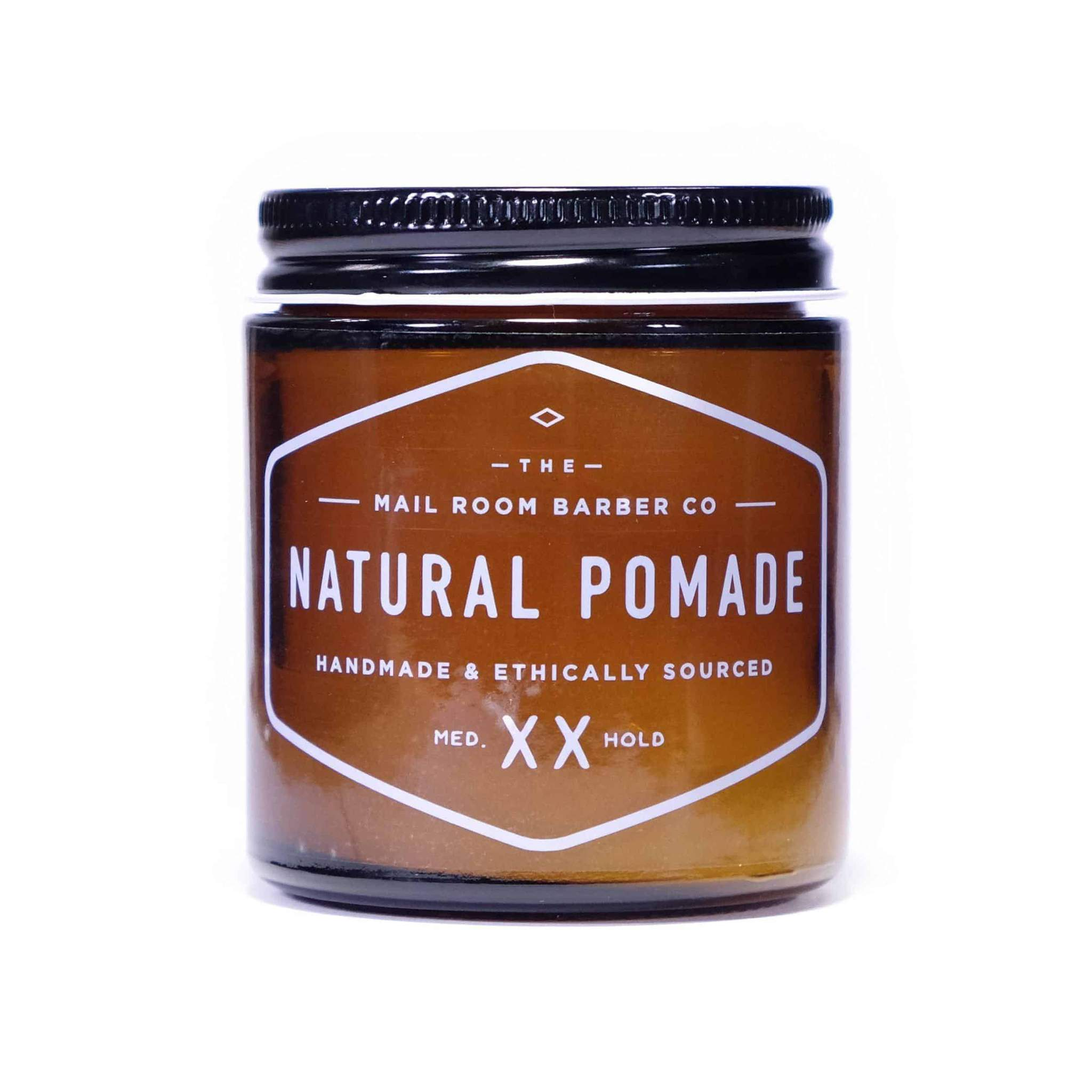 the mail room barber natural pomade