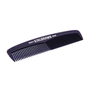 King Brown Black Comb