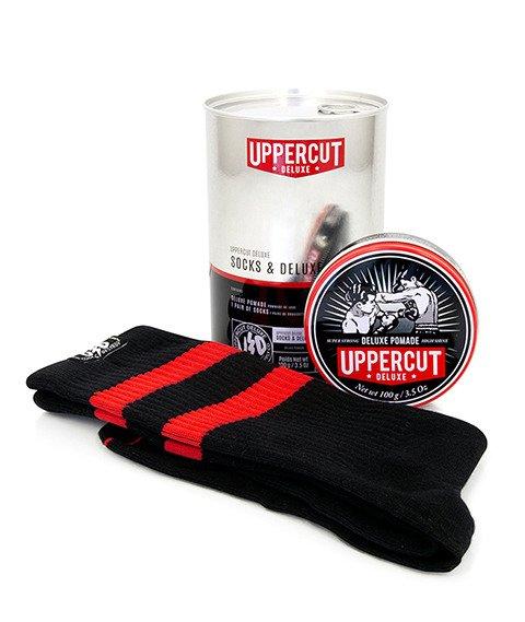 Uppercut Deluxe Socks & Deluxe Pomade zestaw