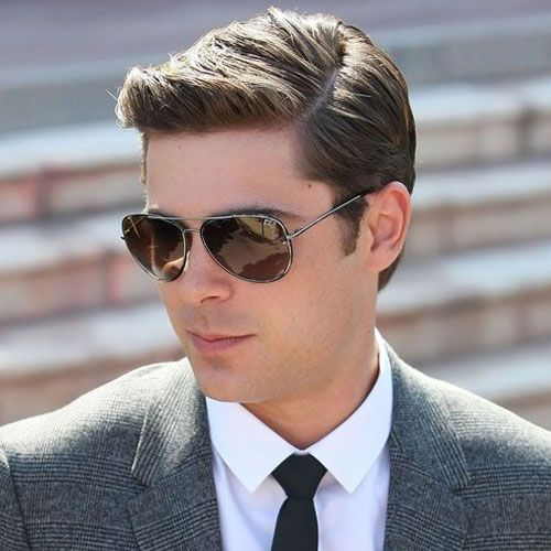 Side Part Zac Efron