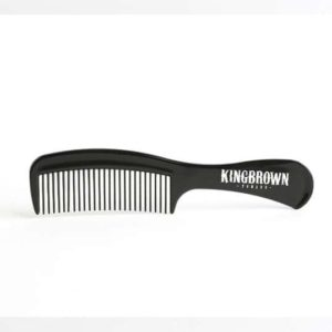 king brown handle comb