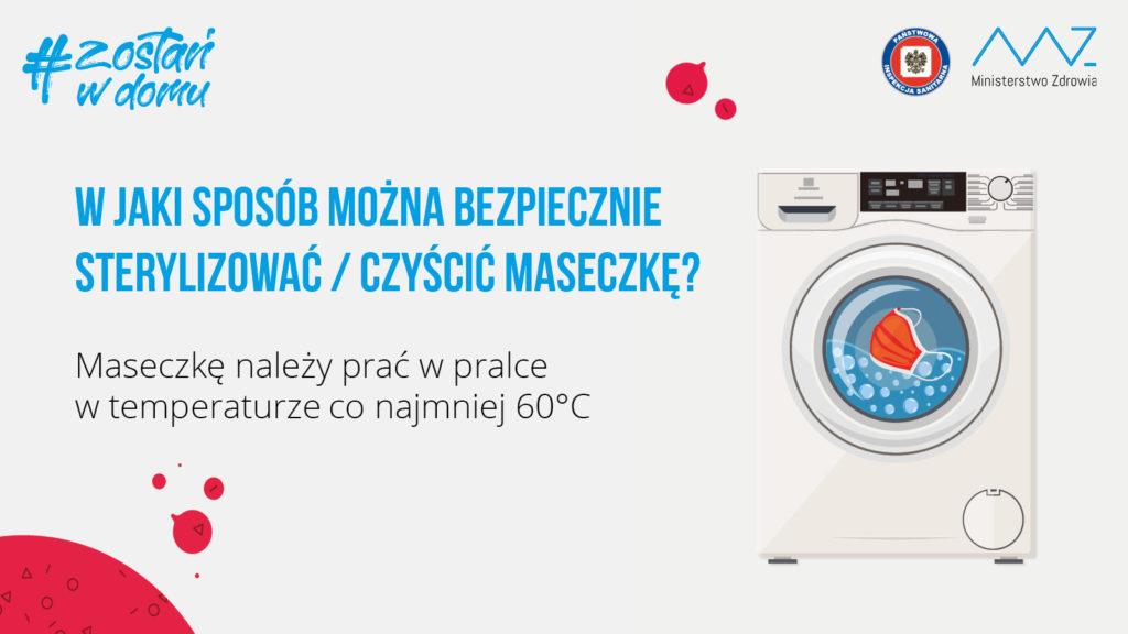 maseczka wielorazowa pranie