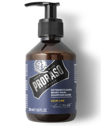 proraso beard wash azur lime